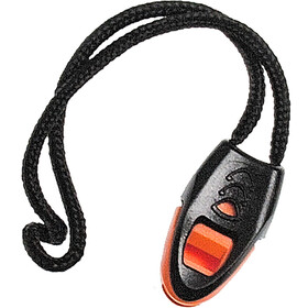 Swimrunners Whistle for wetsuit zipper czarny